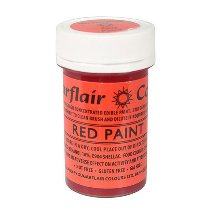 Sugarflair Edible Paint - Red