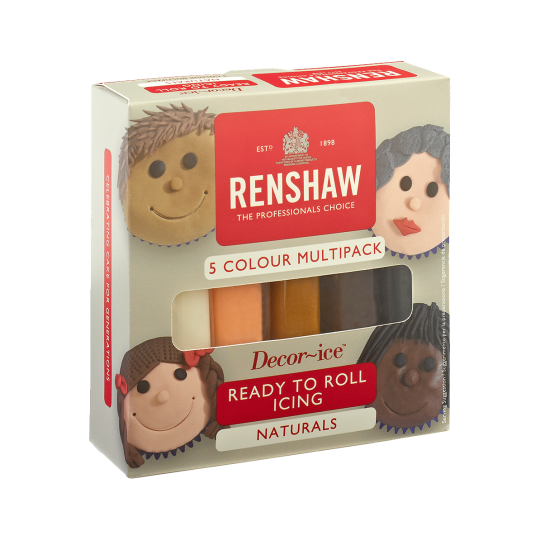 Renshaw Multipack 'Naturals' Ready To Roll Icing