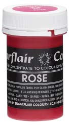 Rose Concentrated Pastel Colour Paste 25g - SimplyCakeCraft