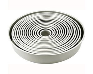 Round Cake Tins - 3 Inch Depth