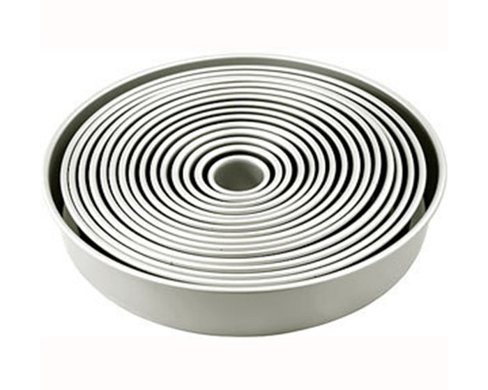 Round Cake Tins - 2 Inch Depth