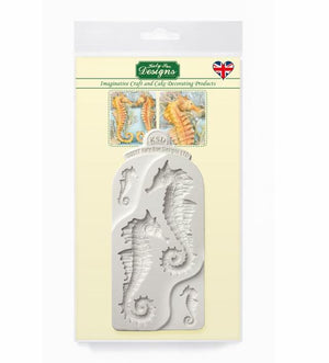 Seahorses Mould By Katy Sue - SimplyCakeCraft