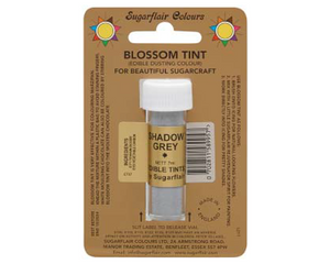 Sugarflair Edible Blossom Tint - Shadow Grey - SimplyCakeCraft