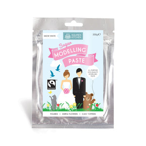 Snow White Modelling Paste 200g - SimplyCakeCraft