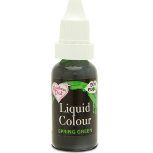 RainbowDust - Spring Green - Liquid Colour 16ml - SimplyCakeCraft