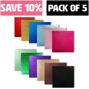 Square Cake Boards - Range of Colours & Sizes (BULK - PACK OF 5) - SimplyCakeCraft