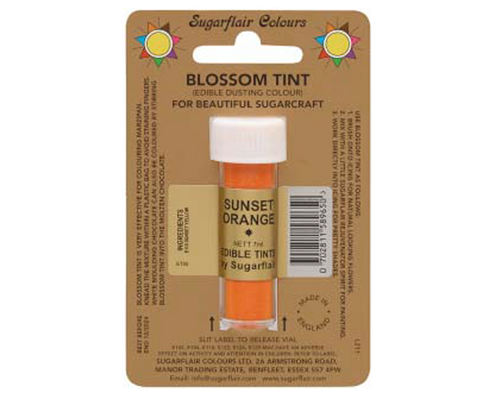 Sugarflair Edible Blossom Tint - Sunset Orange