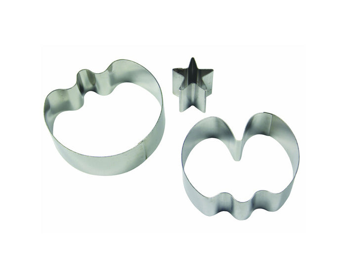 PME Sweet Pea Stainless Steel Cutters Set of 3 (Medium)