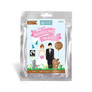 Teddy Bear Brown Modelling Paste 200g - SimplyCakeCraft