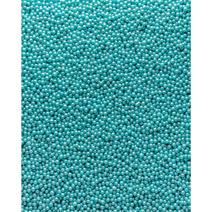 Glimmer Pearls - 3mm Turquoise - SimplyCakeCraft