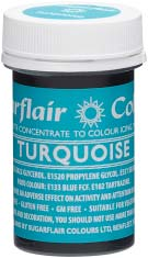 Turquoise Concentrated Spectral Colour Paste 25g - SimplyCakeCraft