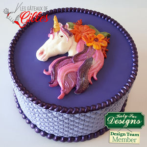 Unicorn Mould By Katy Sue - SimplyCakeCraft