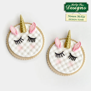 Unicorn Ears, Horn & Lashes Mould By Katy Sue - SimplyCakeCraft