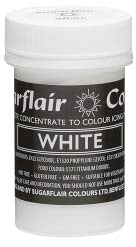 White Concentrated Pastel Colour Paste 25g - SimplyCakeCraft