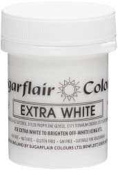 White Extra Maximum Concentrated Paste Colour - SimplyCakeCraft