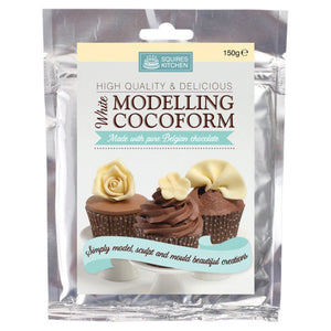 White Chocolate Modelling Cocoform 150g - SimplyCakeCraft