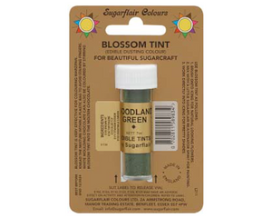 Sugarflair Edible Blossom Tint - Woodland Green - SimplyCakeCraft