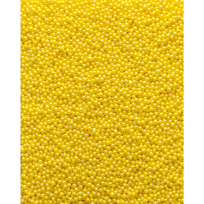 Glimmer Pearls - 3mm Yellow