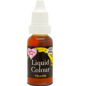 RainbowDust - Yellow - Liquid Colour 16ml - SimplyCakeCraft