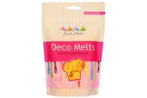 FunCakes Deco Melts 250g - Yellow - SimplyCakeCraft