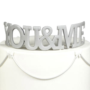 FMM You & Me Curved Words Wedding Cutter - SimplyCakeCraft