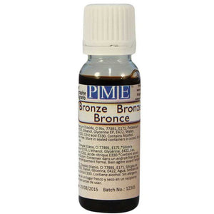 PME Airbrush Colour - Bronze (25g/0.88oz) - SimplyCakeCraft