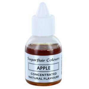Sugarflair Concentrated  Natural Flavouring - Apple 30g - SimplyCakeCraft