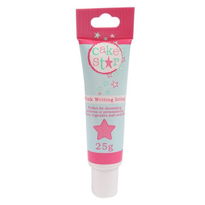 Pink Writing Icing Tube - SimplyCakeCraft