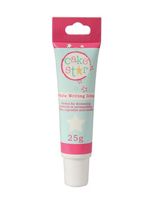 White Writing Icing Tube - SimplyCakeCraft