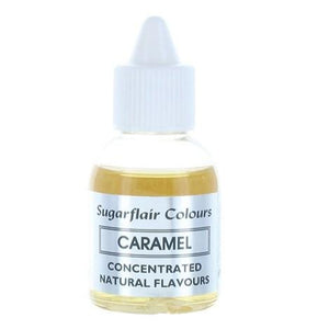 Sugarflair Concentrated Natural Flavouring - Caramel 30g - SimplyCakeCraft