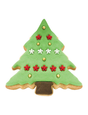 PME Christmas Tree Cookie Cutter Set of 2 (Steel) - SimplyCakeCraft