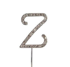 Diamante Letter Cake Decoration A-Z - SimplyCakeCraft