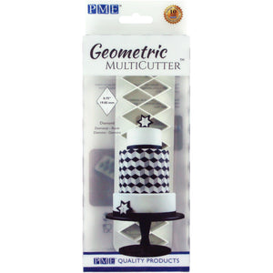 PME Diamond Geometric Cutter Set of 3 - SimplyCakeCraft