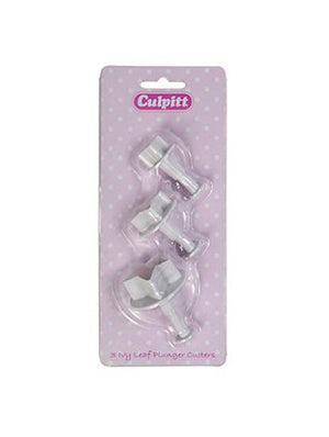 Ivy Leaf Plunger Cutter Set of 3 - SimplyCakeCraft