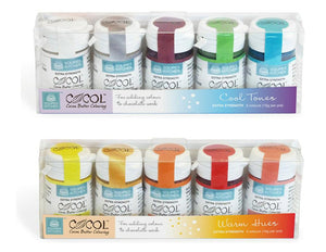 Cocol Cocoa Butter Colouring Kit - SimplyCakeCraft