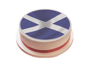 Scotland / Scottish Flag Cake Topper - SimplyCakeCraft