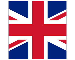 "Union Jack / Great Britain Flag Cake Topper - 7.5"" Square - SimplyCakeCraft"