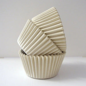 54 Ivory / Cream Cupcake Baking Cases - SimplyCakeCraft