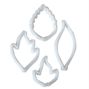 FMM Creative Leaf Cutter Set of 4 - SimplyCakeCraft