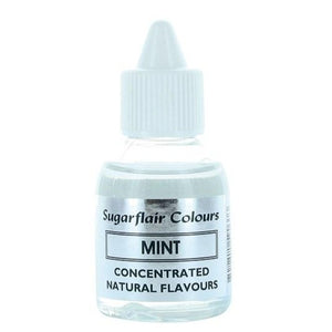 Sugarflair Concentrated Natural Flavouring - Mint 30g - SimplyCakeCraft