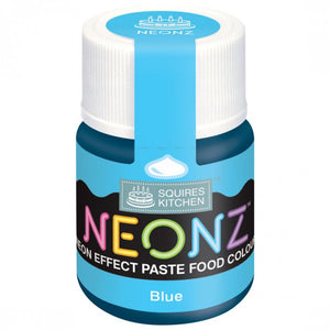 Blue Neonz Food Colour Paste By Squires Kitchen - SimplyCakeCraft
