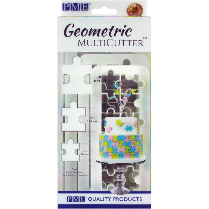 PME Puzzle Geometric Cutter Set of 3
