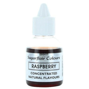 Sugarflair Concentrated Natural Flavouring - Raspberry 30g - SimplyCakeCraft