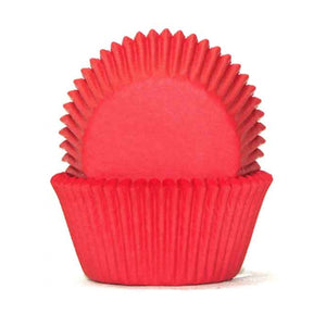 50 Red Cupcake Baking Cases - SimplyCakeCraft