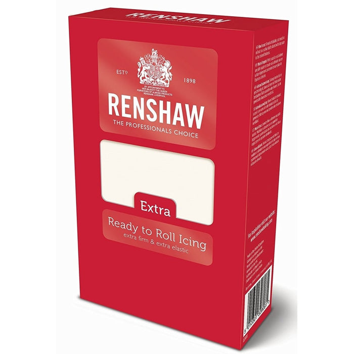 Renshaw Extra White Ready To Roll Icing 1kg