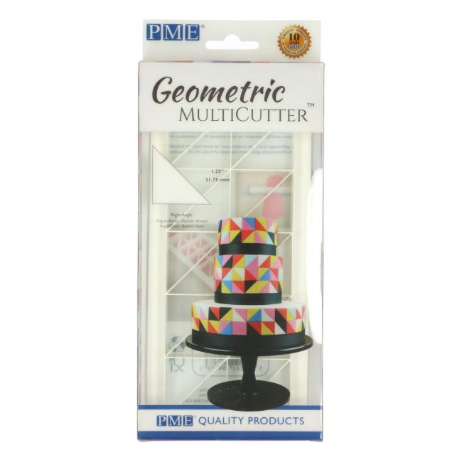 PME Right Angle Triangle Geometric Cutter Set of 3