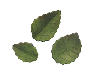 PME Rose Leaf (Serrated) Stainless Steel Cutters Set of 3 - SimplyCakeCraft
