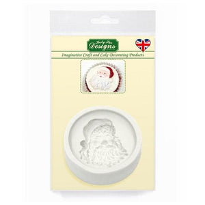 Katy Sue Santa Face Silicone Mould - SimplyCakeCraft
