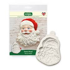 Katy Sue - Santa Head Silicone Mould - SimplyCakeCraft