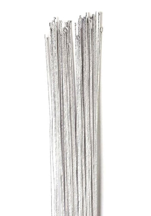 Silver Colour Floral Wire - 24 Gauge (0.56mm)